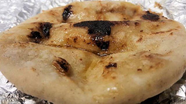 La Delicia Macon Pork Rind Pupusa