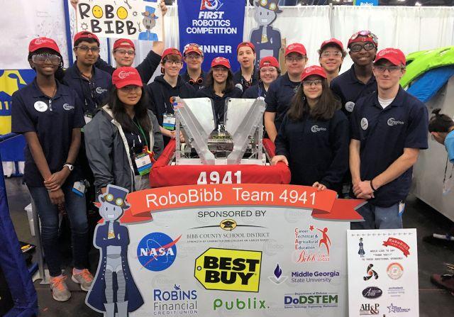 Macon Robotics club picture
