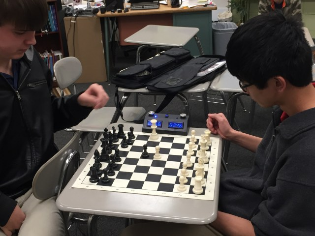 Chess Empowerment Association - Secondary picture FPD practice