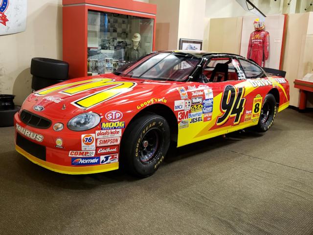 Bill Elliott's race car - Georgia Sports Hall of Fame