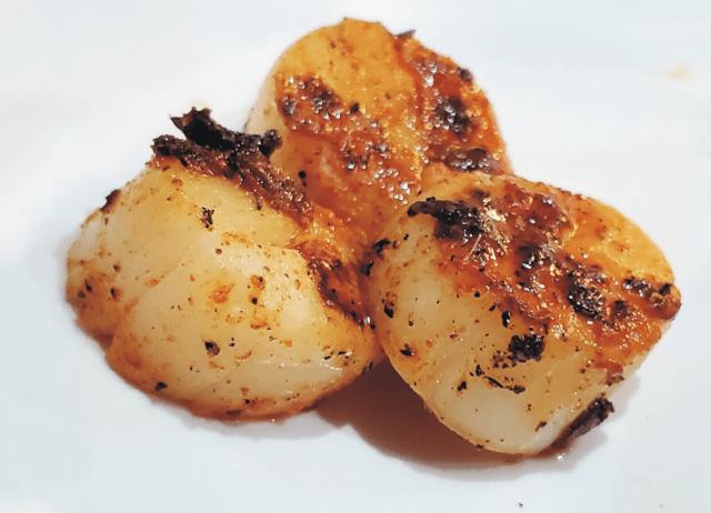 Scallops from Kudzu Seafood Company - Macon