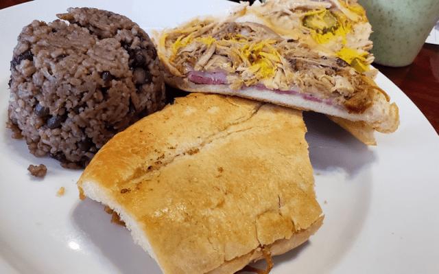 Cuban Sandwich - Cuban Island Cafe