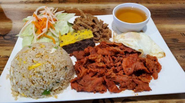 Broken Rice with Grilled Pork