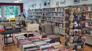 The Friends of the Library Book Store has a great selection of gently used books