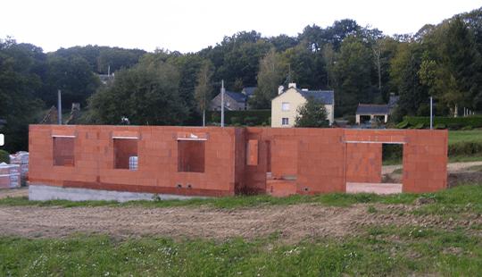 Construction maison pluherlin