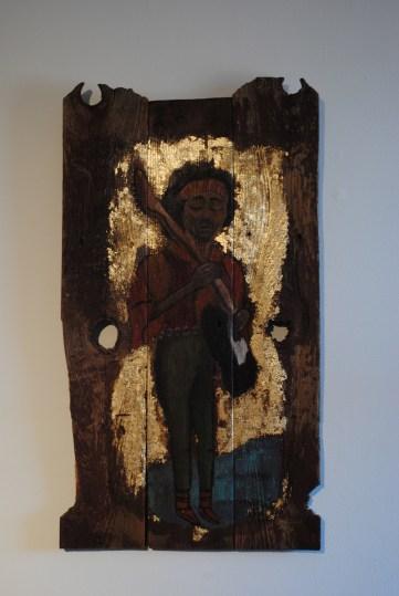 Jimi Hendrix- Icon Painting