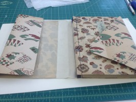 Rice Paper Repaired Paper Cover