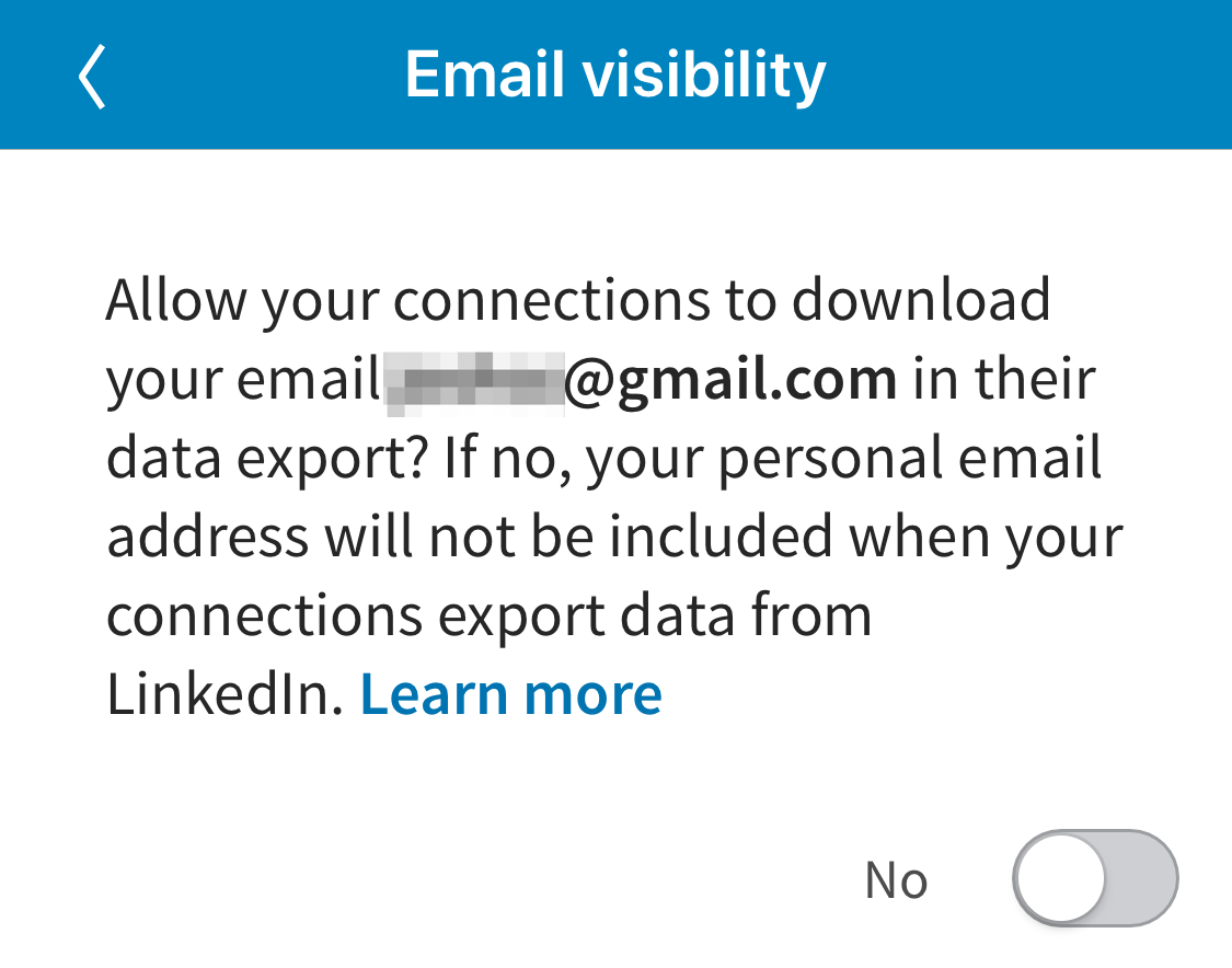 LinkedIn Protects Email Addresses in Latest Export Update