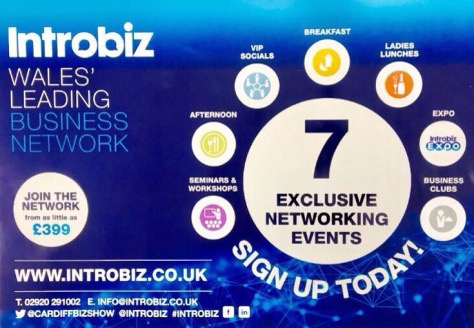 The #IntrobizExpo pre show Networking Event starts at 7pm…