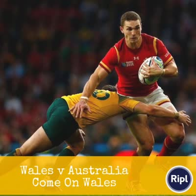 Wales v Australia – 5.45pm kickoff today!