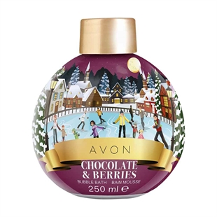 Chocolate & Berries Bubble Bath Bauble