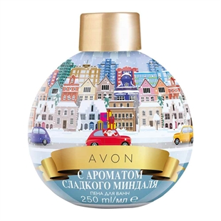Sweet Almond Bubble Bath Bauble