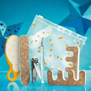Foot Works Gold Star Pedi Kit