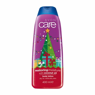 Avon Care Limited Edition Festive Restoring Moisture with Coconut Oil Body Lotion - 400ml