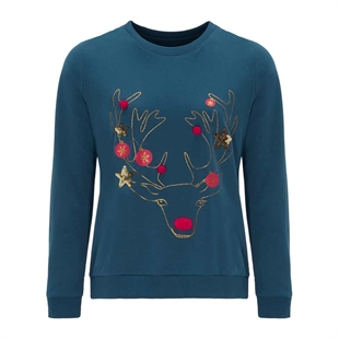Novelty Reindeer Christmas Jumper