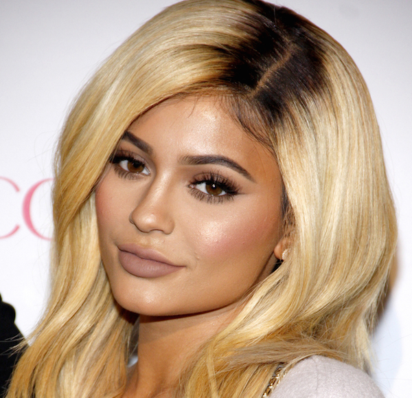 Kylie Jenner Jumps On Sheer Bandwagon With Sparkling See-Through Dress