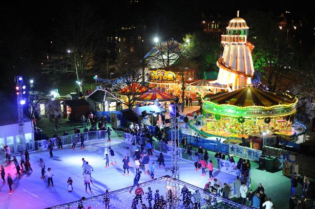 Pictures from Cardiff Winter Wonderland…