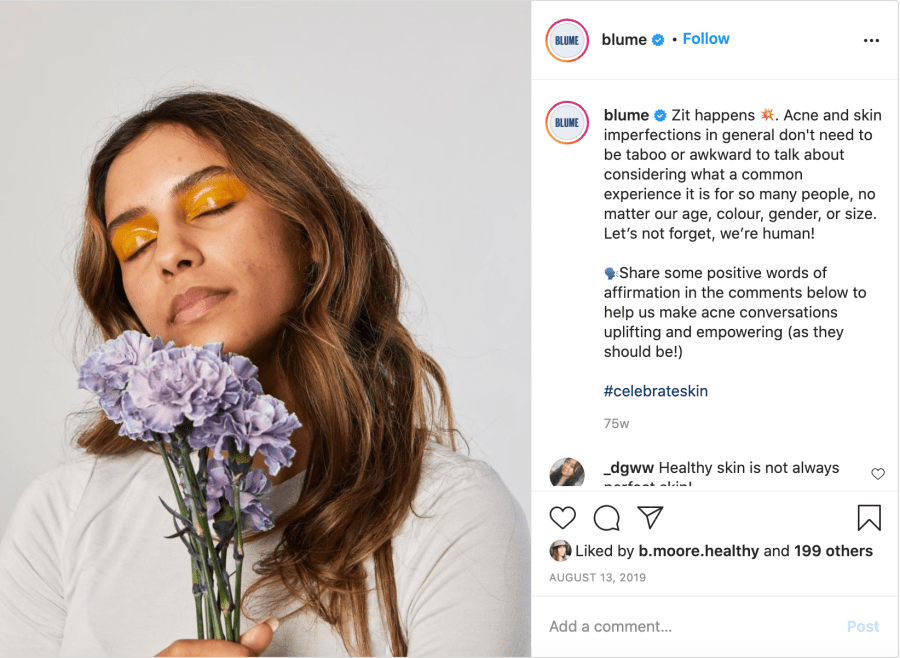 Selling on Social 101: How Blume Markets and Sells to a Gen Z Audience