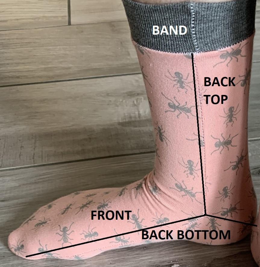 Sew it forward Socks, Ellie & Mac