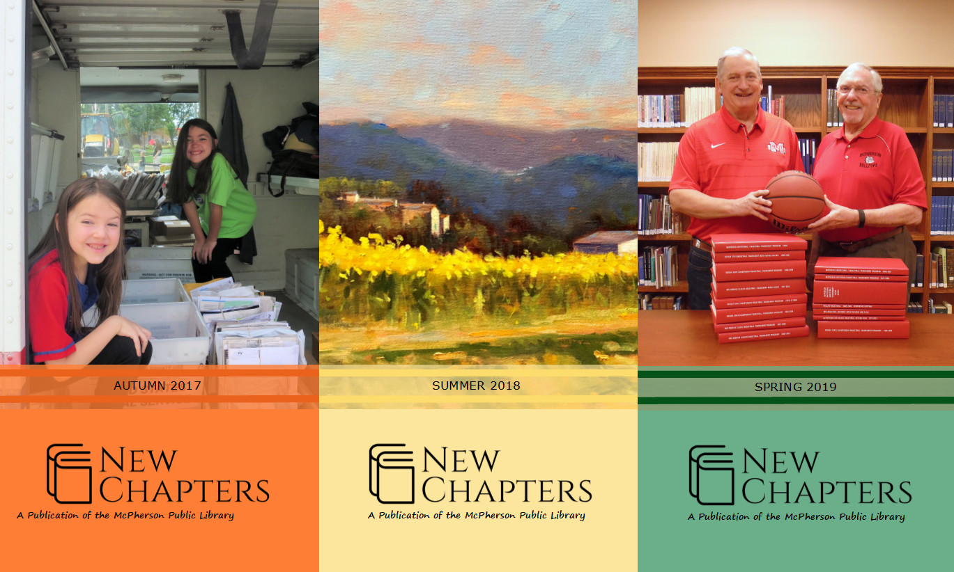 New Chapters -- Our quarterly newsletter