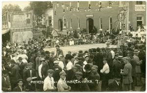1907 Potato Days in Reinbeck, Iowa RPPC