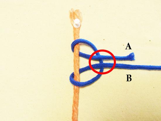 タッチング結び工程3