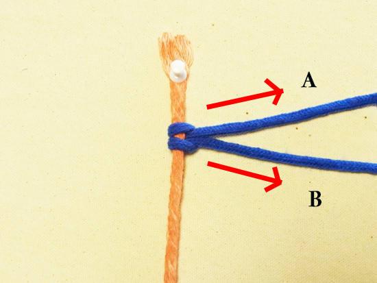 タッチング結び 工程4