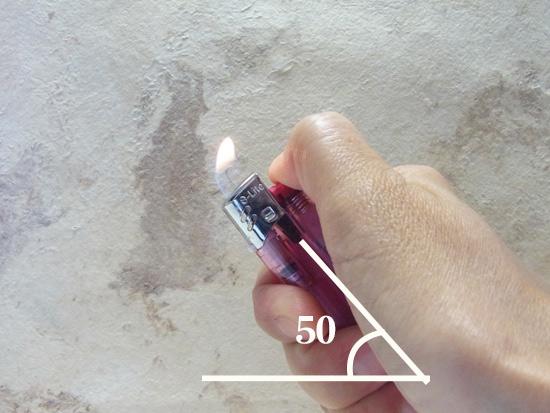 マクラメ基礎 ライターの角度
