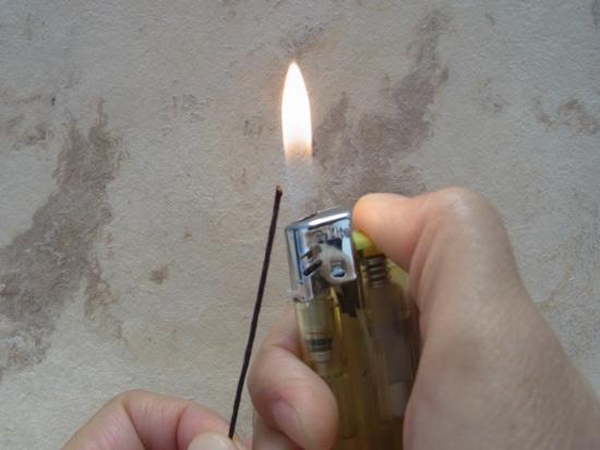 ワックスコード 熱処理の仕方