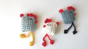 Tutoriel Cocotte au crochet