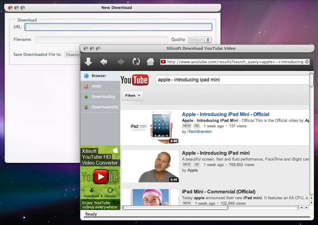 Xilisoft Download YouTube Video Review