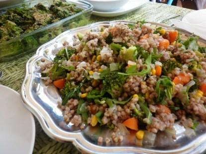 trigo sarraceno ensalada