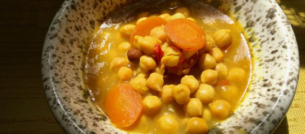 Macrobiotic Online Health Coaching Chickpea and Vegetable Soup