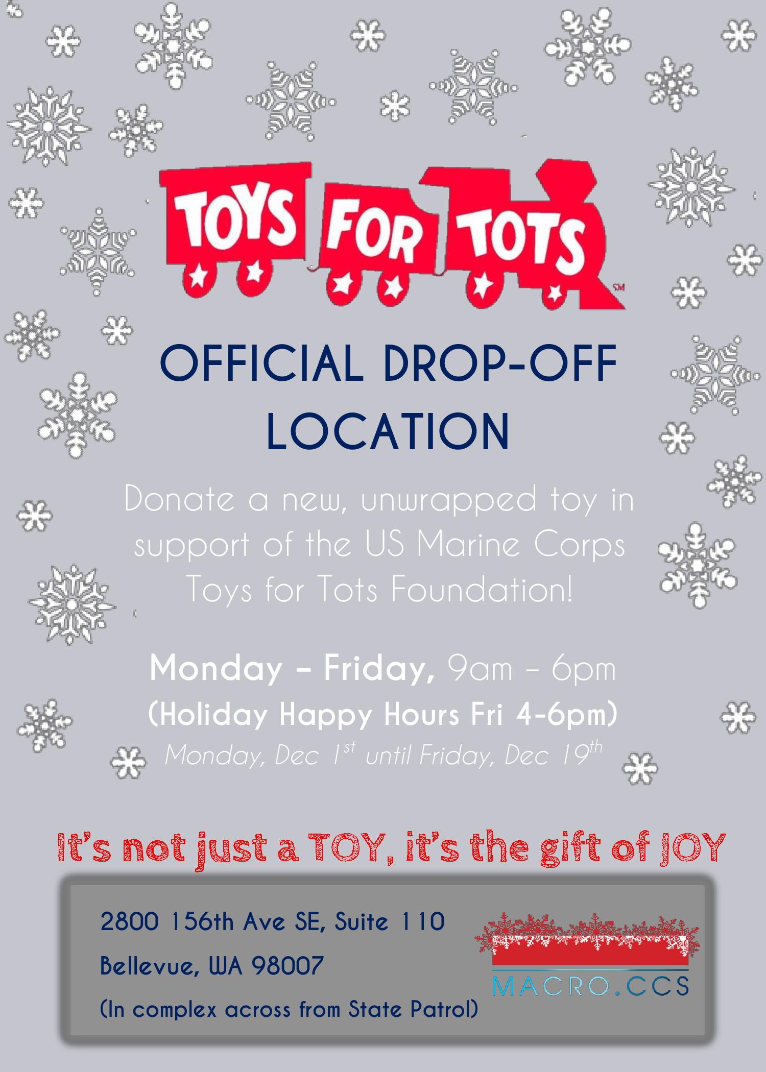 Form 501c3 Toys For Tots : Events news archives macroccs