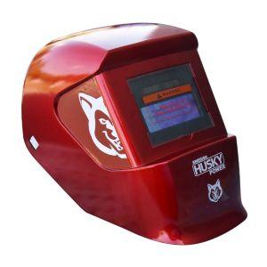Careta Electrónica Roja Husky