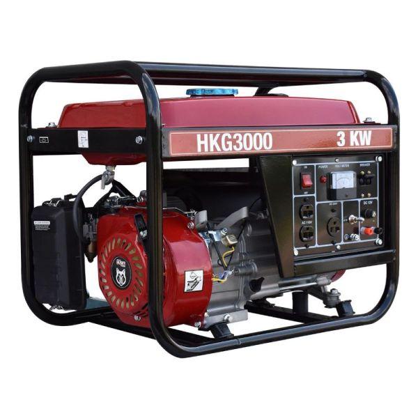 Generador Monofásico de Gasolina 7.5HP 3000w_2