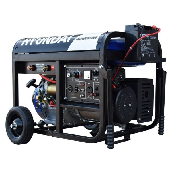 Soldador Generador Monofásico 15HP 4000w_2