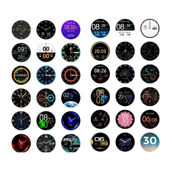Reloj inteligente T6 Acero Inox-2