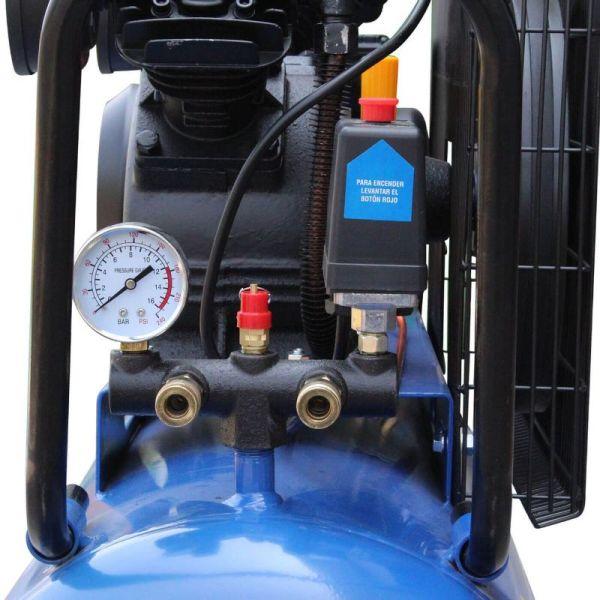 Compresor Profesional 200 litros de Faja_2