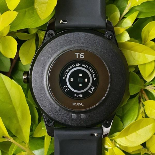 Reloj inteligente T6 Naranja-5