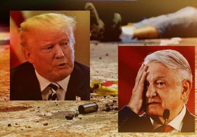 Las presiones de Estados Unidos a México responden a una estrategia fallida del gobierno federal mexicano.
