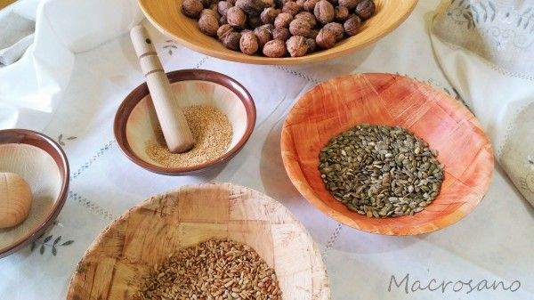 semillas tostadas