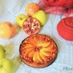 Tarta de manzana y agar agar