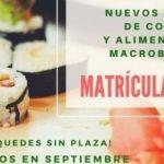 Nueva Convocatoria de Cursos de Cocina y Alimentación Macrobiótica