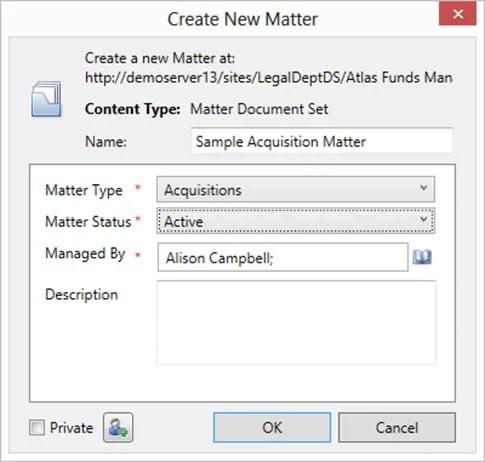CreateNewMatter