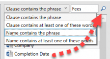 ClauseBank Search SharePoint