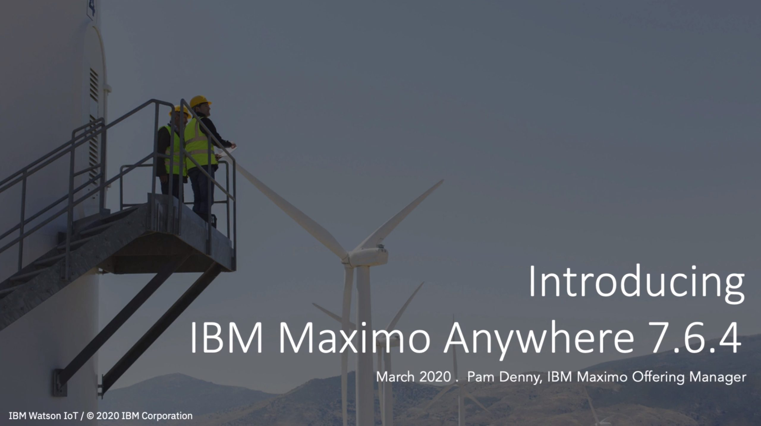 Introducing IBM Maximo Anywhere 7.6.4