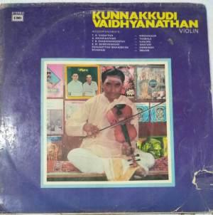 Instrumental VIolin LP Vinyl Reocrd by Kunnakudi Vaidyanathan www.macsendisk.com 1