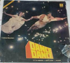 Dance dance Hindi Film LP Vinyl Record by R D Burman www.macsendisk.com 1