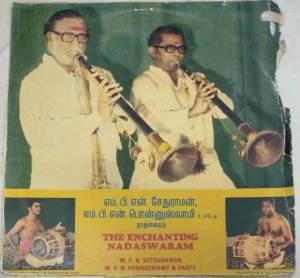 Instrumental Nadhaswaram LP Vinl Record by M P N Ponnusamy www.macsendisk.com 1jpg